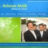 Rehman Malik Goes Online