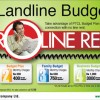 Landline Budget Plan-Zero Line Rent