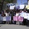 Protest Against Telenor's khamoshi Ka Boycott TVCs