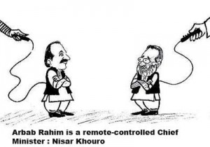 Arbab Rahim is a remote-comtrolled Chief Minister  Nisar Khuro