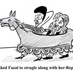 BB asked Fazal to strugle along with her