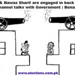 I & Nawaz sharif are engaged in back channel talks with Government - Benazir