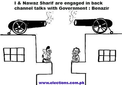 Nawaz sharif are engaged in back channel talks with Government ...
