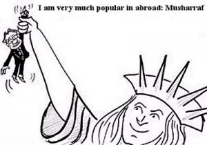 I am very much popular in abroad - Musharaf