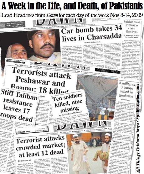 Pakistan war week
