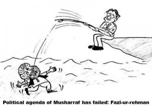 Political agenda of Musharraf has failed - Fazl-ur-rehman