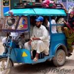 Rickshaw Service in Pakistan