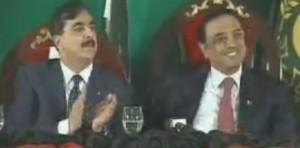 Gilani - Zardari