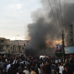 Blast at Karachi Ashura procession (3)