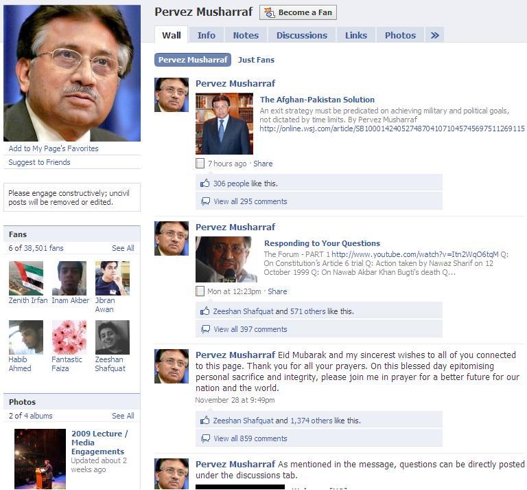 Musharaf-Facebook