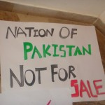 Nation of Pakistan Not for Sale
