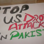 STOP US DRONE ATTACKS IN PAKISTAN