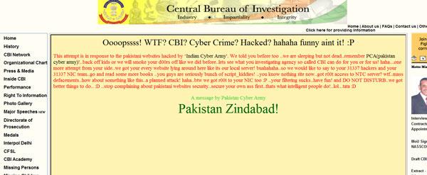 CBI website hacked by 'Pak Cyber Army' | News - Times of ...