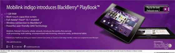 Mobilink BlackBerry PlayBook