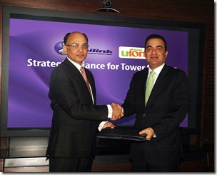 Ufone Mobilink thumb Mobilink & Ufone Sign Agreement for Tower Sharing