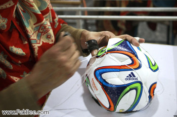 Fifa World Cup Soccer Ball to produce in Pakistan (7)